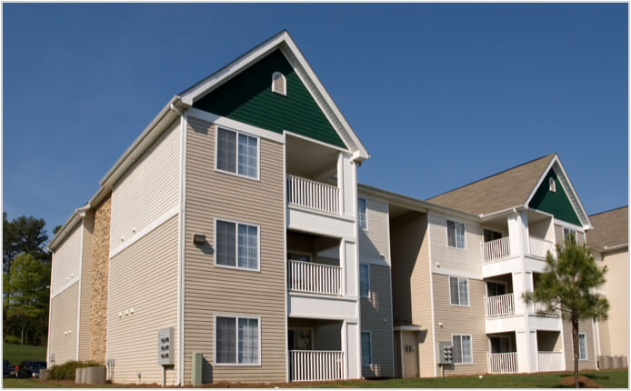 Multifamily property loan provided by Plum Lending